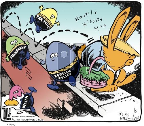 Tom Toles on Sunday April 16, 2017 Comic Strip