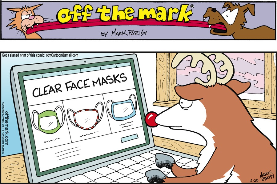 Off the Mark Comic Strip for December 20, 2020