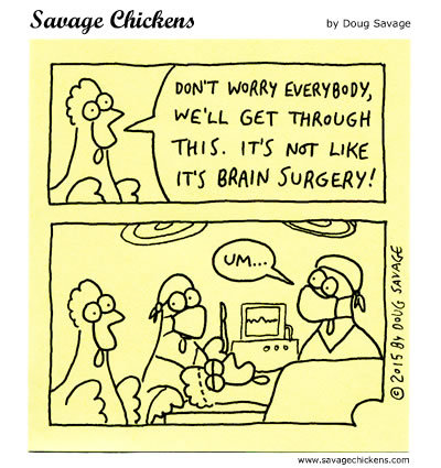 Savage Chickens Comic Strip for May 10, 2019