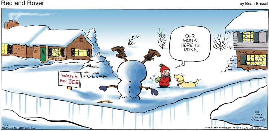 Red and Rover for Jan 29, 2017 Comic Strip