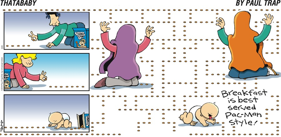 Thatababy Comic Strip for March 23, 2014