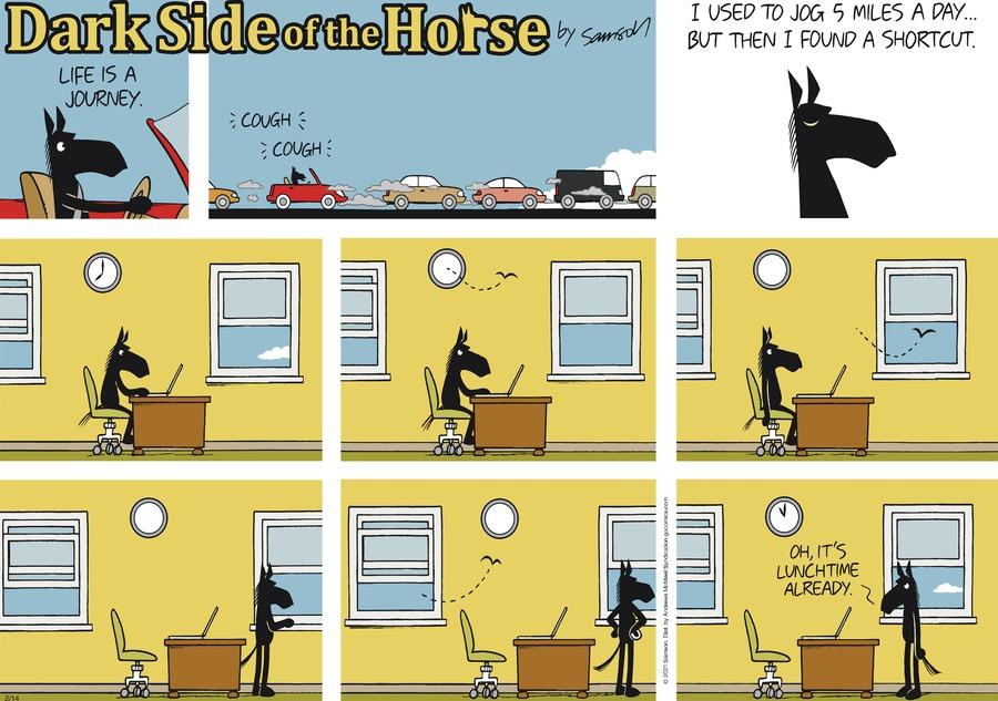 Dark Side of the Horse by Samson on Sun, 14 Feb 2021