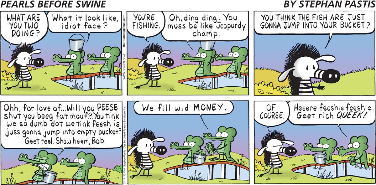 Pearls Before Swine Comic Strip for February 17, 2008