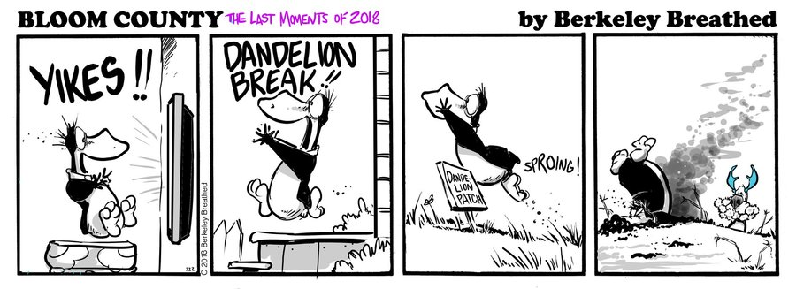 Bloom County 2018 by Berkeley Breathed for January 05, 2019