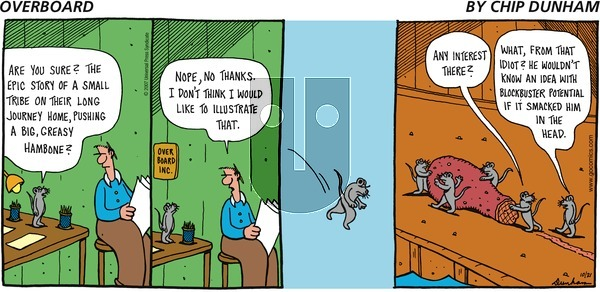 Overboard on Sunday October 21, 2007 Comic Strip