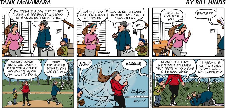 Tank McNamara Comic Strip for March 21, 2021