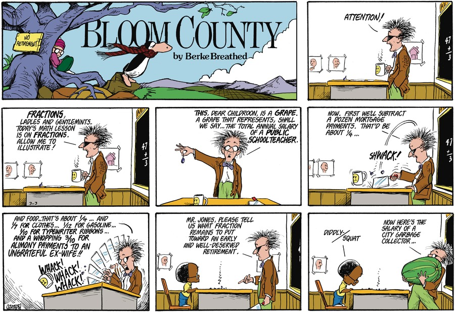 Bloom County by Berkeley Breathed on Fri, 12 Feb 2021