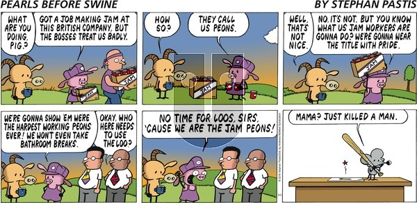 Pearls Before Swine on Sunday March 3, 2019 Comic Strip