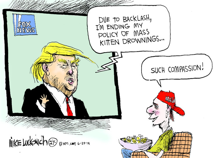 Mike Luckovich for Jun 24, 2018 Comic Strip