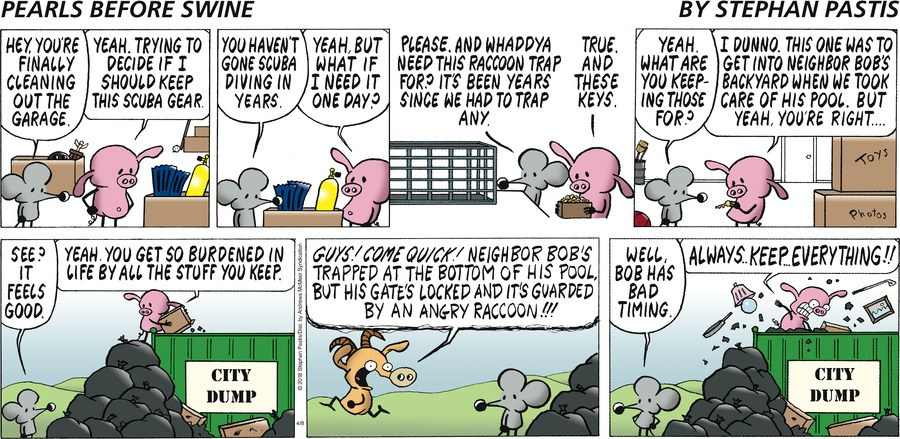 Pearls Before Swine Comic Strip for April 08, 2018