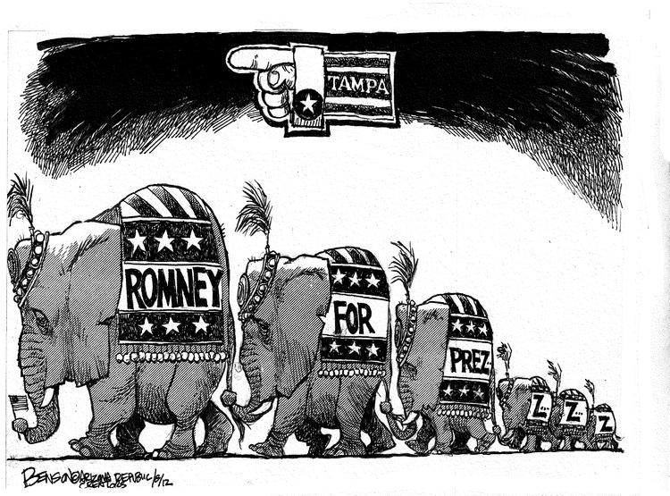 Steve Benson Comic Strip for August 26, 2012