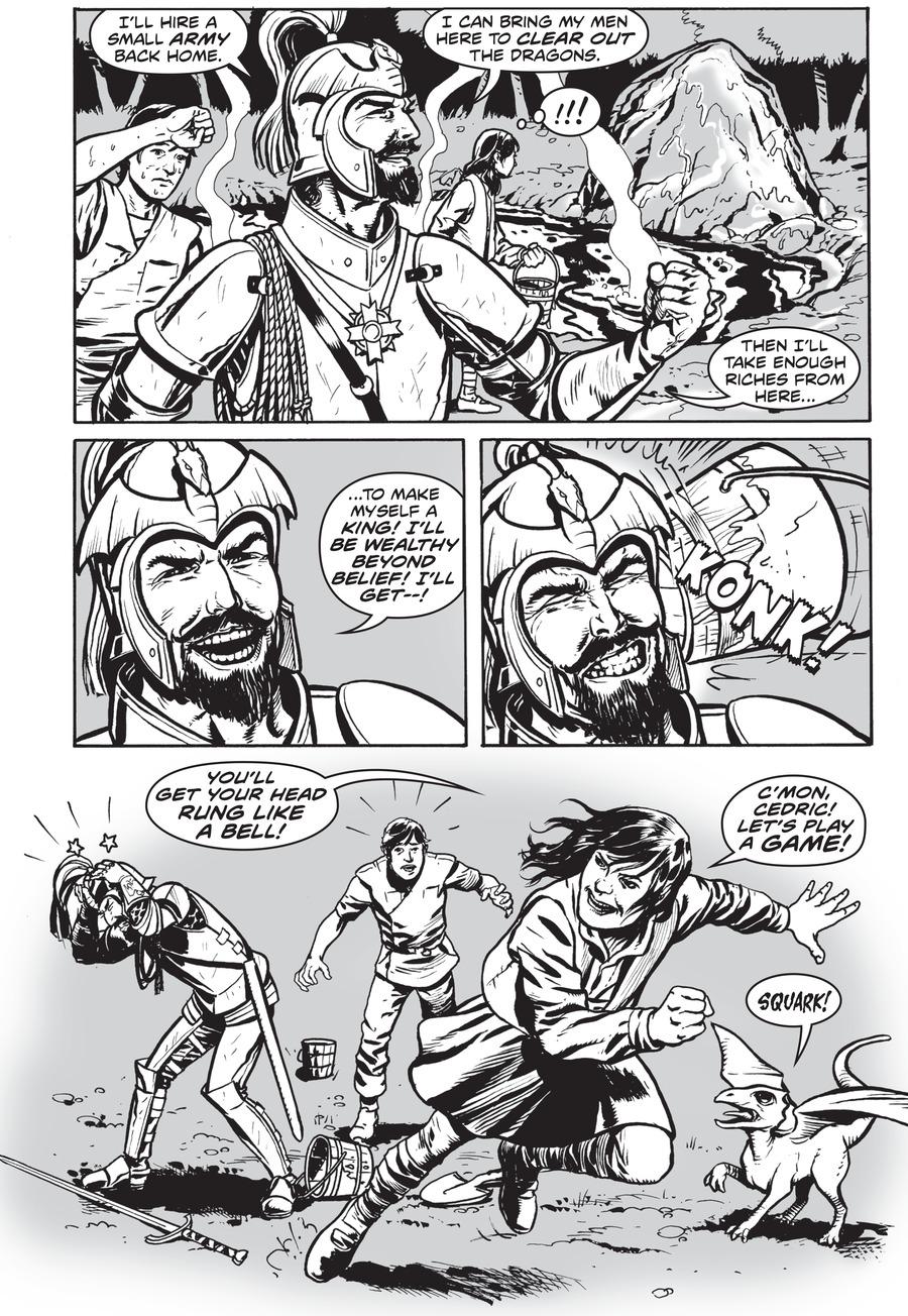 Dragon Girl Comic Strip for July 31, 2020