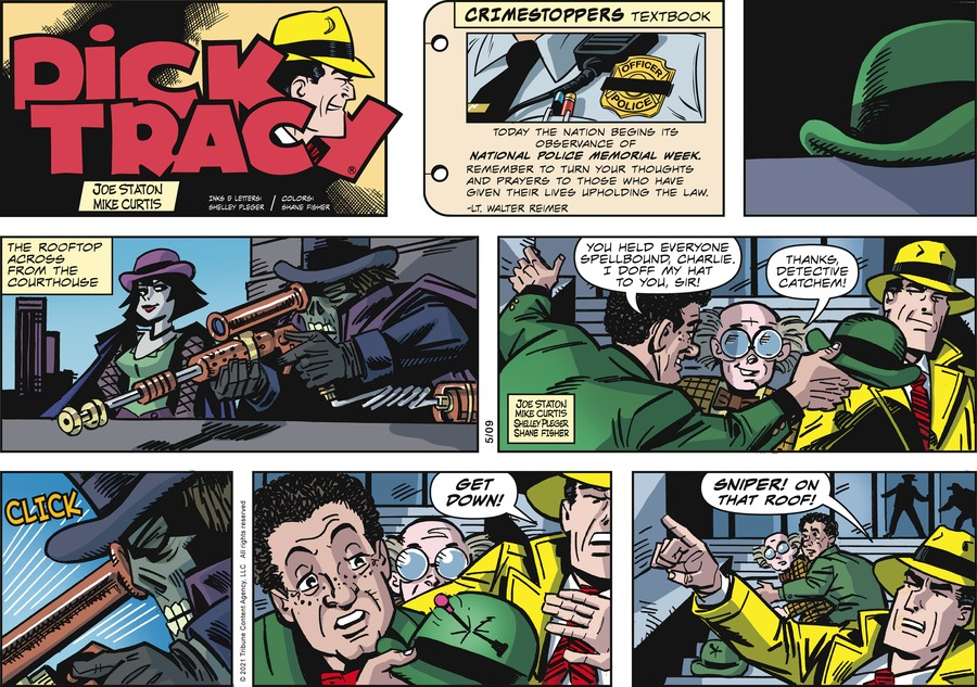 Dick Tracy by Joe Staton and Mike Curtis on Sun, 09 May 2021