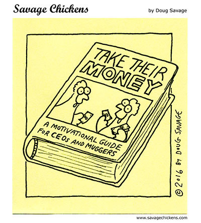 Savage Chickens Comic Strip for August 06, 2020