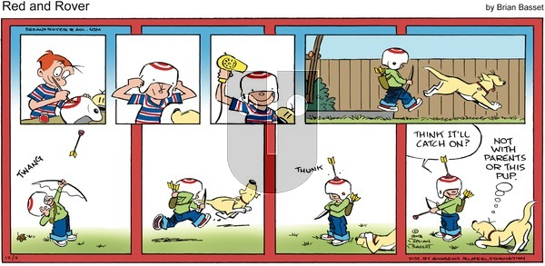 Red and Rover on December 2, 2018 Comic Strip