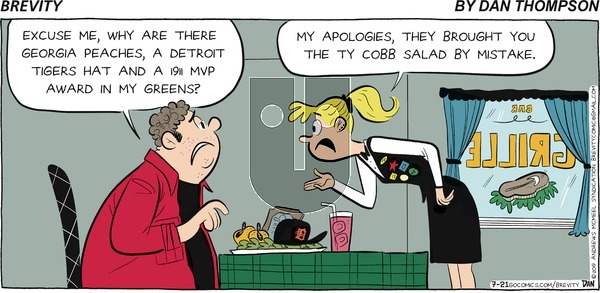 Brevity on Sunday July 21, 2019 Comic Strip