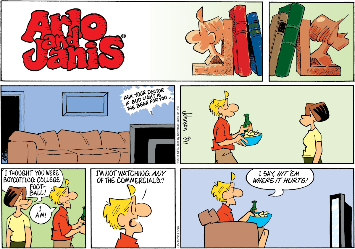 Arlo and Janis Comic Strip for September 11, 2011