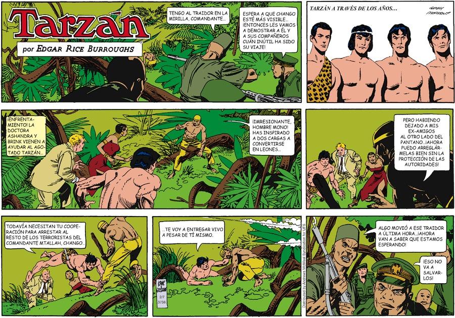 Tarzán en Español by Edgar Rice Burroughs on Sun, 07 Feb 2021