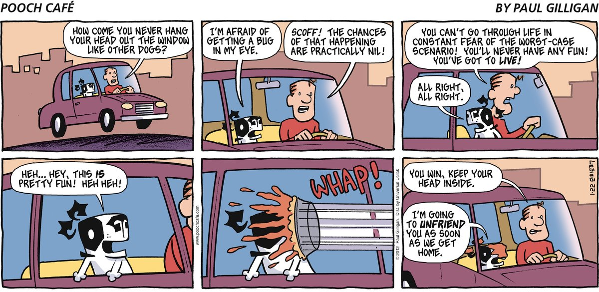 Pooch Cafe Comic Strip for January 22, 2012