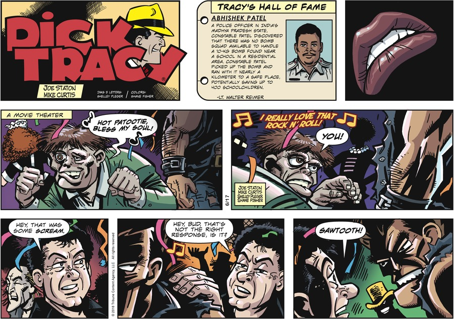 Dick Tracy Comic Strip for June 17, 2018