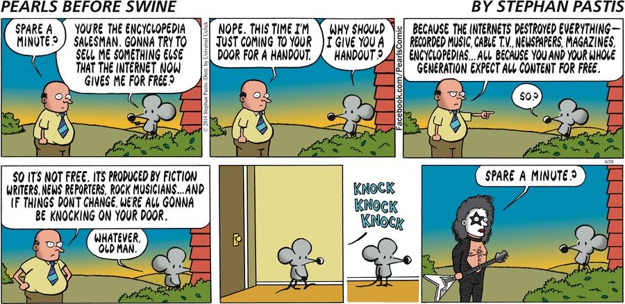 Pearls Before Swine Comic Strip for June 29, 2014