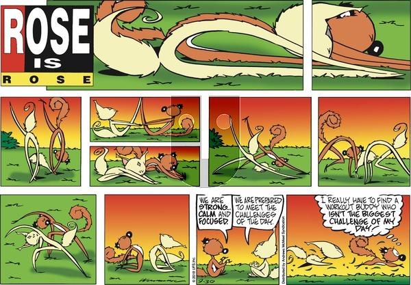 Rose is Rose - Sunday September 30, 2018 Comic Strip