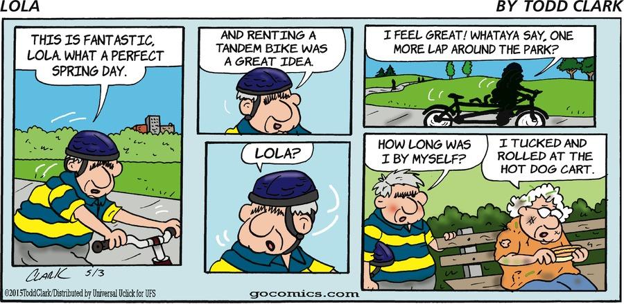 Lola Comic Strip for May 03, 2015