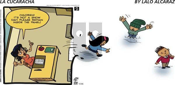 La Cucaracha - Sunday January 26, 2020 Comic Strip