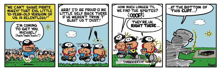 Pirate Mike Comic Strip for January 24, 2019