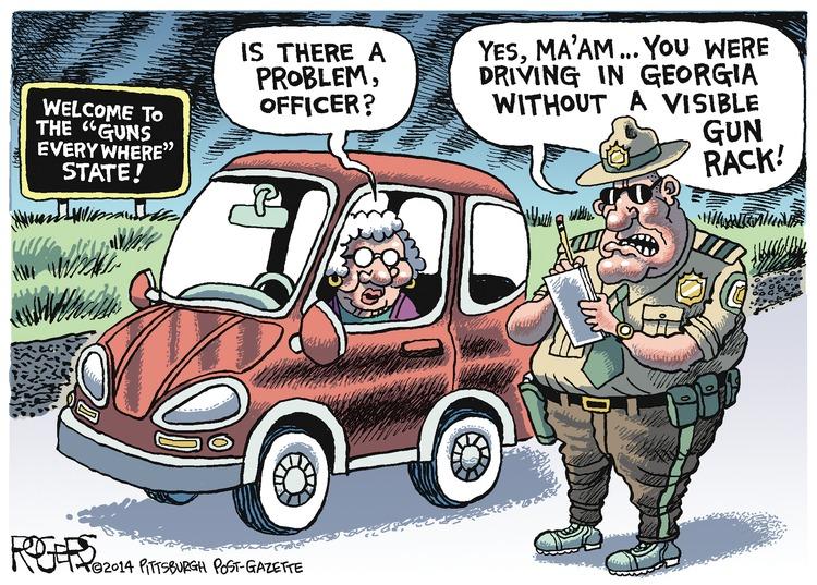 Rob Rogers Comic Strip for April 27, 2014
