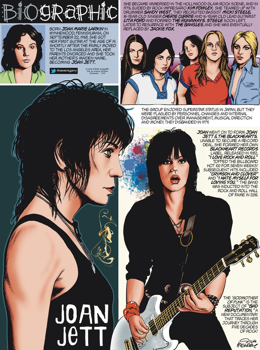 Biographic Comic Strip for September 30, 2018