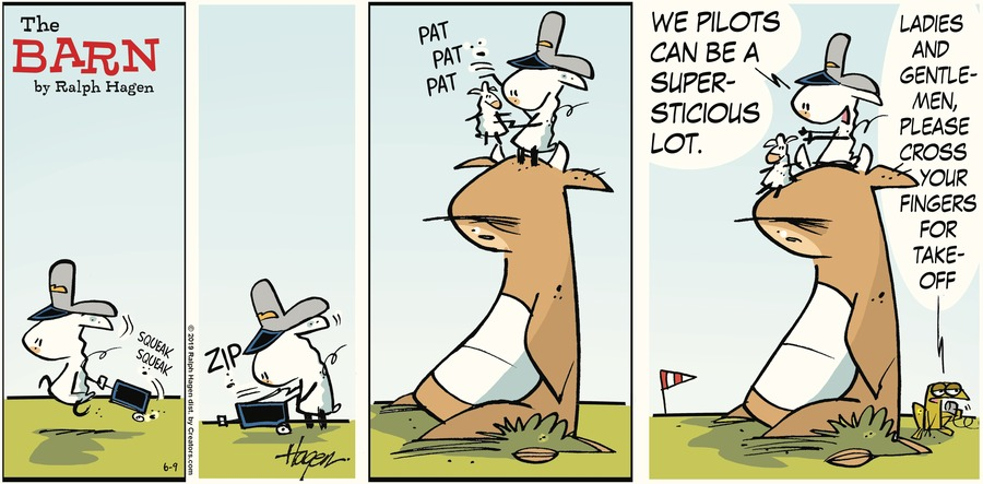 The Barn Comic Strip for June 09, 2019