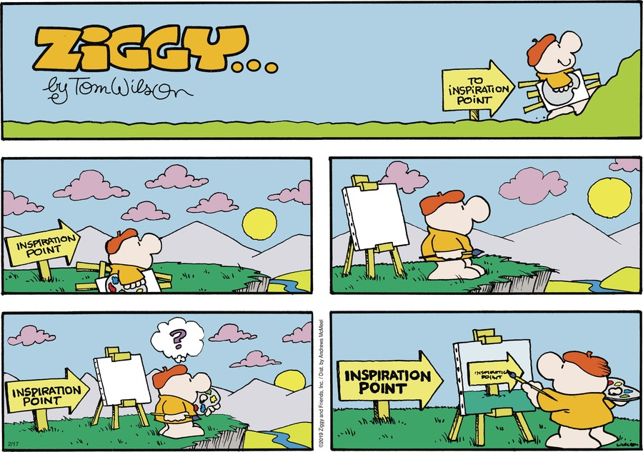 Ziggy Comic Strip for February 17, 2019