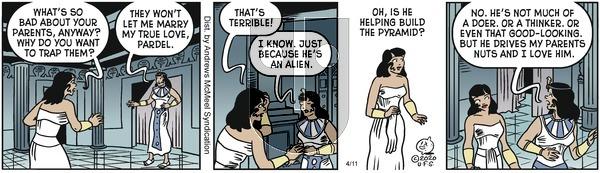 Alley Oop on Saturday April 11, 2020 Comic Strip