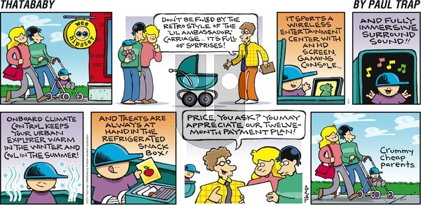 Thatababy on Sunday September 17, 2017 Comic Strip