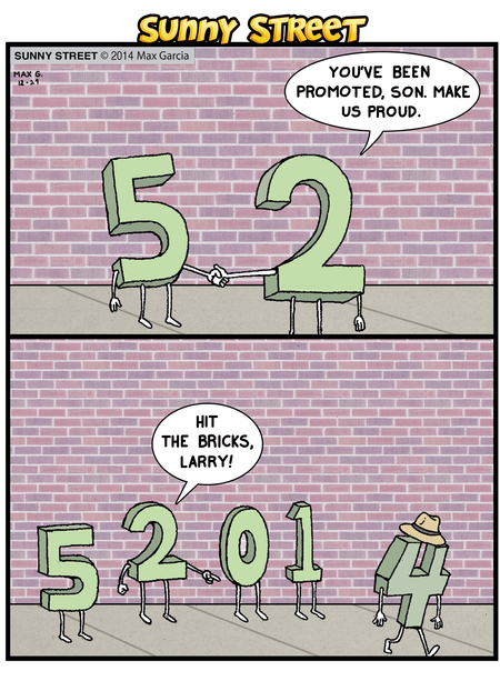 Sunny Street Comic Strip for December 29, 2014