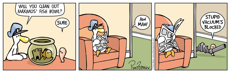 Ollie and Quentin Comic Strip for March 29, 2016