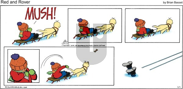 Red and Rover on Sunday February 9, 2020 Comic Strip