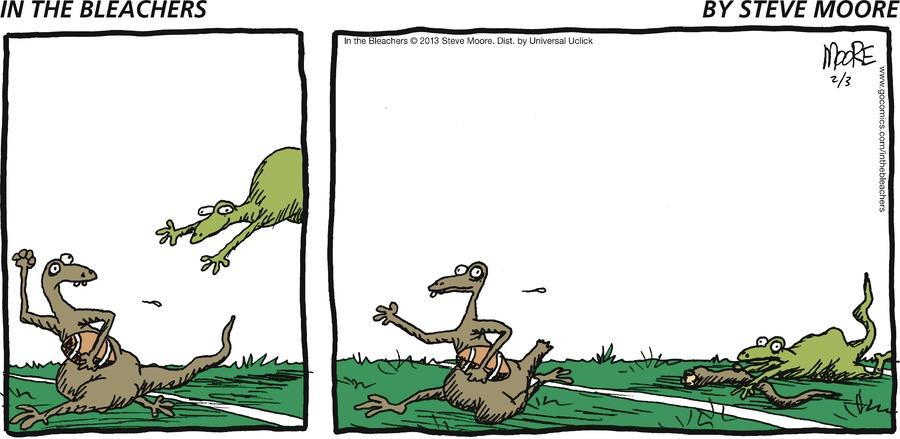 In the Bleachers for Feb 3, 2013 Comic Strip