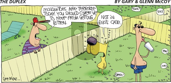 The Duplex on Sunday May 15, 2016 Comic Strip