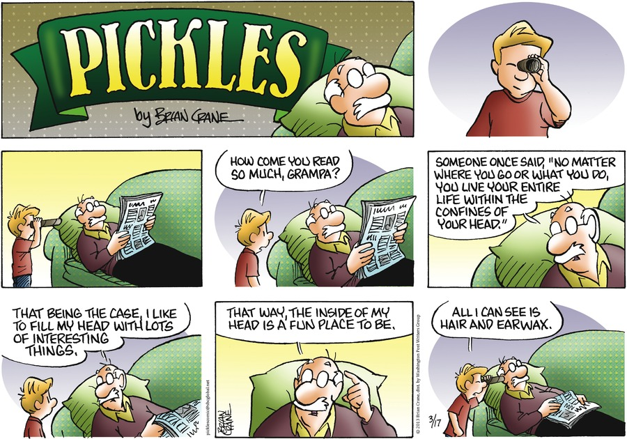 Pickles Comic Strip for March 17, 2013