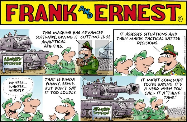 Frank and Ernest on Sunday December 4, 2016 Comic Strip