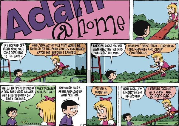 Adam@Home on Sunday July 29, 2012 Comic Strip