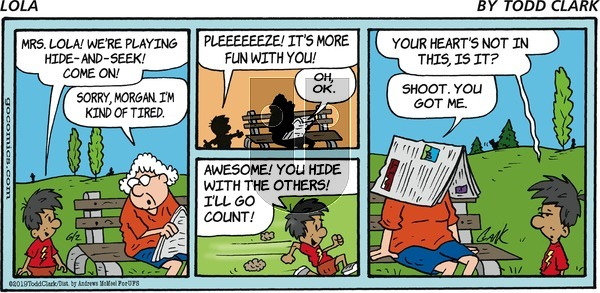 Lola on Sunday June 2, 2019 Comic Strip