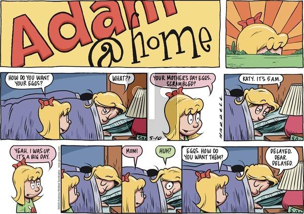 Adam@Home - Sunday May 10, 2020 Comic Strip