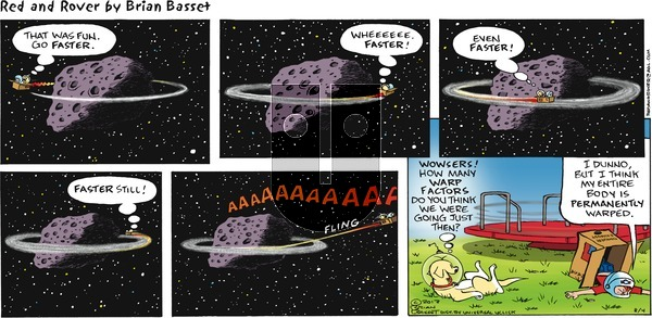 Red and Rover - Sunday August 4, 2013 Comic Strip