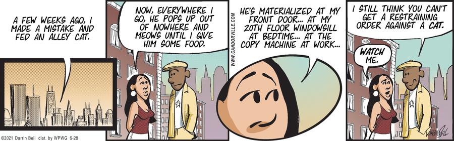 Candorville Comic Strip for September 28, 2021