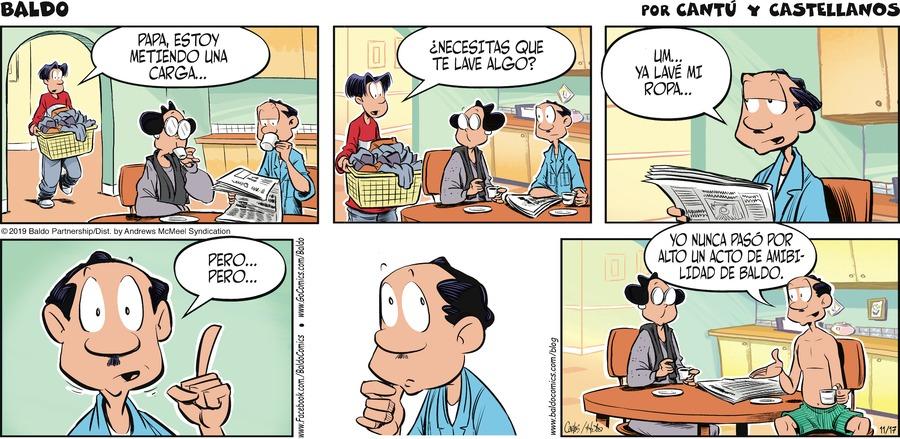 Baldo en Español Comic Strip for November 17, 2019