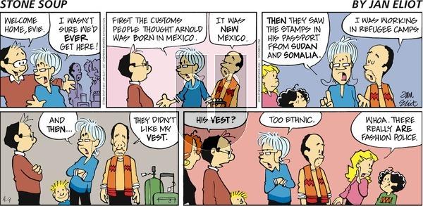 Stone Soup on Sunday April 9, 2017 Comic Strip