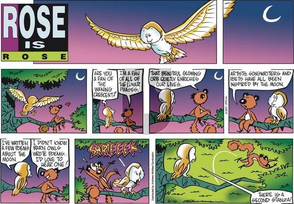 Rose is Rose - Sunday May 16, 2021 Comic Strip